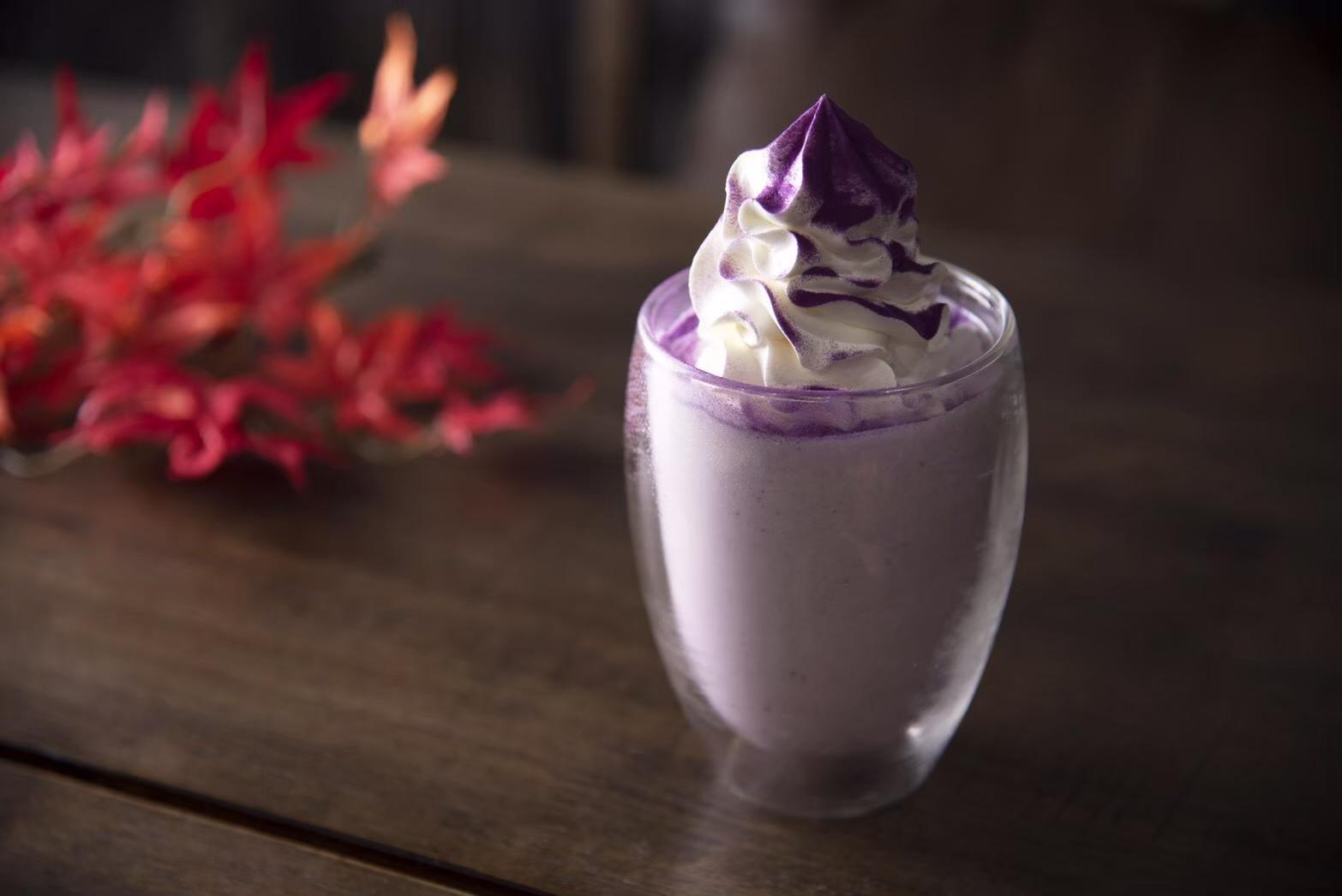 紫芋シェイク